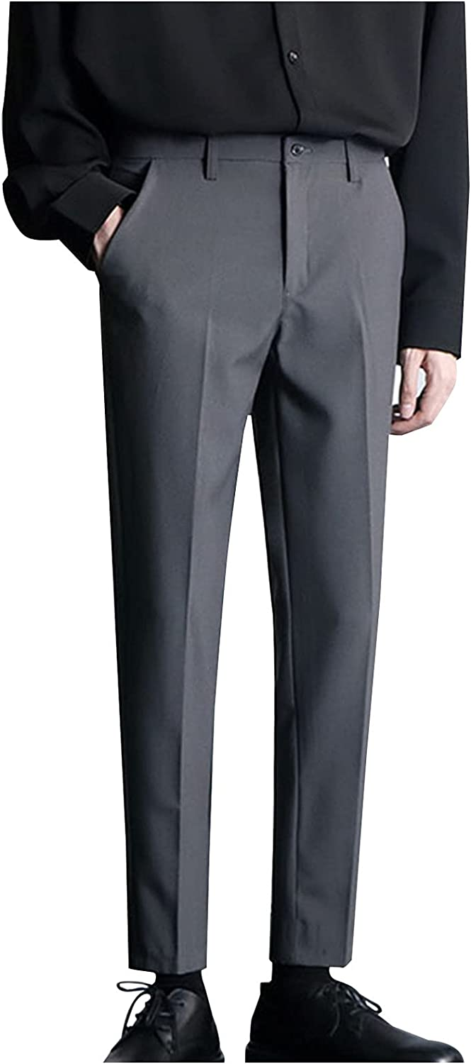 Dress Pants for Max Popular shop is the lowest price challenge 84% OFF Men Slim Fit Pant Shi Men's Classic Stain Casual