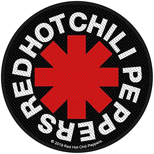 Red Hot Chili Peppers Póster Asterisk Band Logo Nuevo Oficial Sew On Woven Patch
