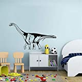 juseny Vinyl Wall Art Inspirational Quotes and Saying Home Decor Decal Sticker Decorative Viny Dinosaur for Kids Rooms Saltasaurus Home Decor