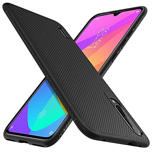 iBetter para Xiaomi Mi 9 Lite Funda Suave y Duradera, Funda de TPU. Funda para Smartphone Xiaomi Mi 9 Lite/Xiaomi Mi A3 Lite.(Negro)