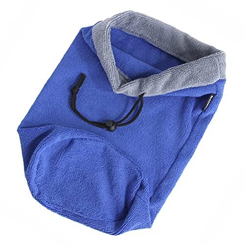 M I A Toalla de ducha pequeña para mascotas, hámster hurón, toalla de secado de baño, súper absorbente, pequeña bolsa de toalla para hámster, azucarero, animales pequeños, conejillo de indias
