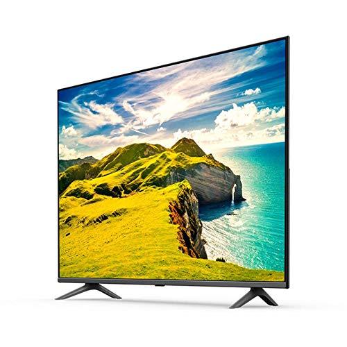 Televisor 4K HDR de diseño de pantalla completa ultradelgado de 55 pulgadas, alto rendimiento y sin demora 2G + 8G,gran espacio de almacenamiento, imagen clara, procesador de cuatro núcleos de 64 bi