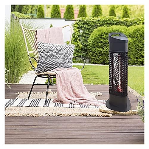 QIULAO Calefacción al Aire Libre Vertical 1200W Terraza eléctrica Calefacción Calefacción rápida Habitación infrarroja Calefacción para Comercio/hogar