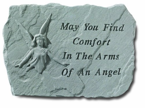 Stepping Stone- May you find comfort by Kay Berry Inc