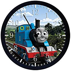 Thomas Train Thomas and Friends 12 Wall Clock Glass Large Silent Non-Ticking Nice for Gift or Wall Decor E140