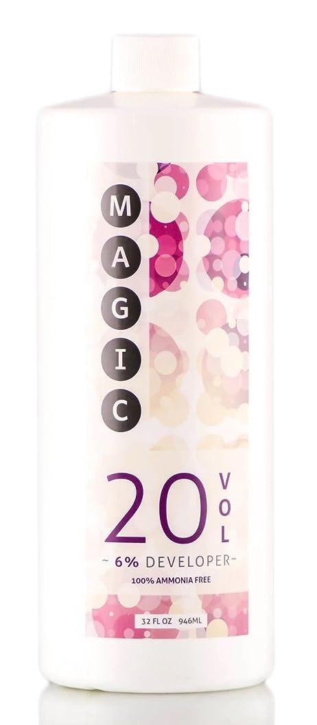 もっともらしい曖昧なクロールMagic Lightener MAGICライトナー開発、アンモニアを含まない100% 6%20巻、32オンス
