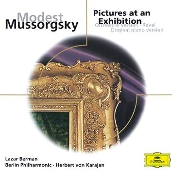 ムソルグスキー:展覧会の絵(オーケストラ&ピアノ、バージョン)