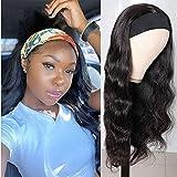 22 Inch 150% Density Headband Wig Virgin...