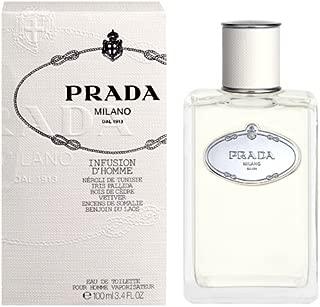 Prada Infusion D'homme by Prada for Men Eau De Toilette Spray 3.4-Ounce