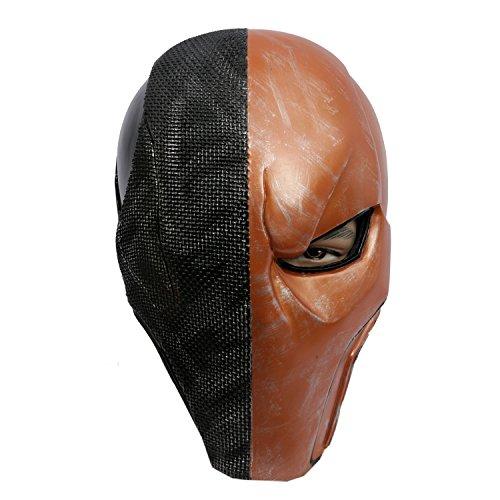 Cosplay Masque Costumes Accessories Jeux de Guerre PVC Masques Toys Casque For Halloween Vêtements Déguisement Brun