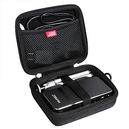 Hermitshell Travel Case for AKASO Mini Projector Portable 1080P HD DLP LED 50 ANSI Lumens Pico Projector