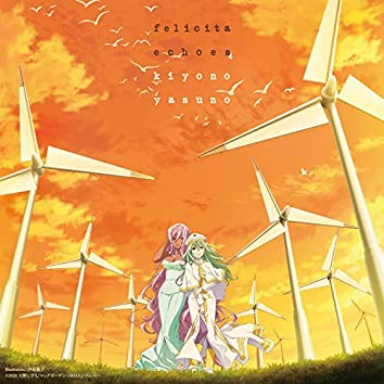 """""""ARIA The CREPUSCOLO"""" Opening & Ending Theme Song Felicita/echoes(ARIA Disc)"""