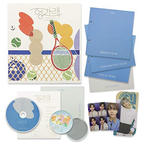 SEVENTEEN 7th Mini Album - Heng:garae [ NET ver. ] CD + Photobook + Sticker + Lyric Paper + Photocards + Bookmark + OFFICIAL POSTER + FREE GIFT