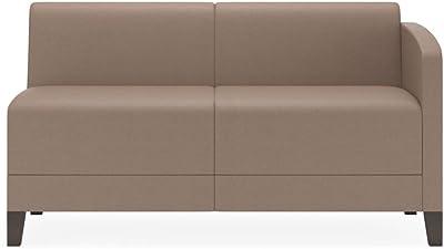 Amazon.com: Astor sofá de Kyle schuneman, Tela, Piedra ...