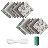 14 Stück Baumwollstoff Meterware Stoffreste Stoff
