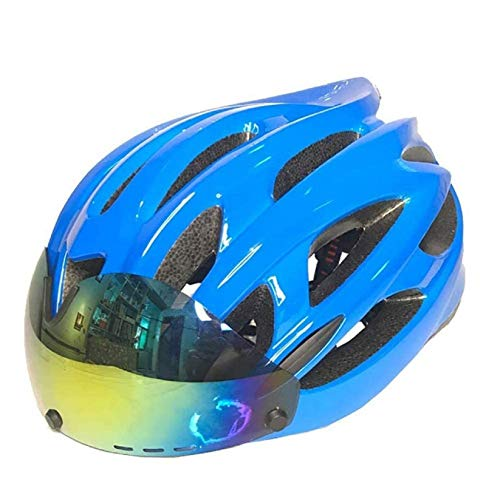 Superligero Bike el casco para adultos con Bluetooth, casco ajustable de la...