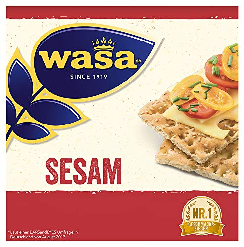 Wasa Knäckebrot Sesam, 12er Pack (12 x 200g)