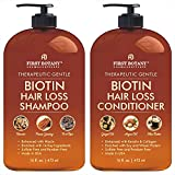 Hair Growth Shampoo Conditioner Set - An Anti Hair Loss Shampoo and Conditioner with 14 DHT blockers...