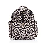 Itzy Ritzy Dream Backpack Diaper Bag; Lightweight Backpack Made of Puffer Style Material; Features 14 Pockets, Stroller Straps, Changing Pad & Adjustable Shoulder Straps, Leopard