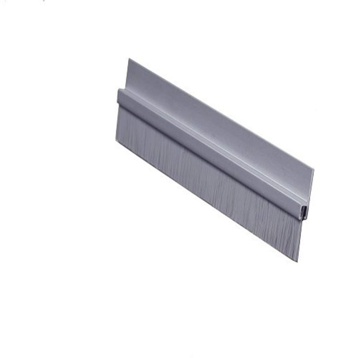 Pemko - Kansas City Mall 18061CNB36 Brush Door Clear Sweep Bottom Anodized famous Alumi