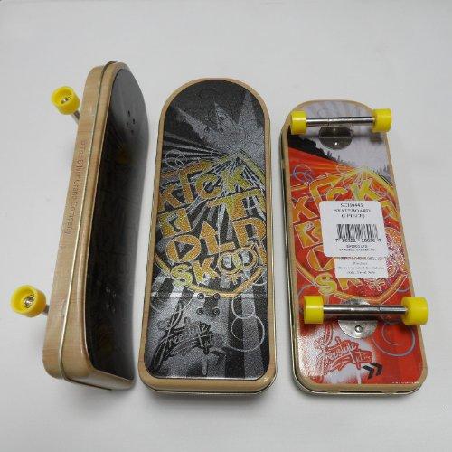 l'argent Grue Company Sc110443 Skateboard Jaune