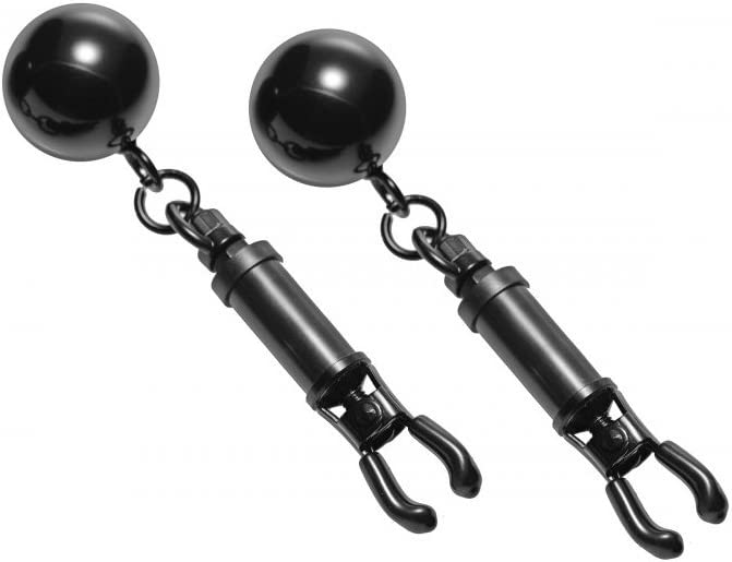 Master Direct sale of manufacturer Series Black Bomber Nipple with Oklahoma City Mall Weights Ball Clamps