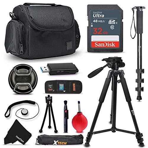 Ultimate SONY Digital Camera ACCESSORIES Kit for SONY Cyber-Shot DSC-RX100 IV, RX10 II, HX90V, XW500, QX30, RX100 III, H400, H300, HX400V, QX10, QX100, RX1R, RX10, RX100 II, XH50V, XH300, NEX5T, NEW3N