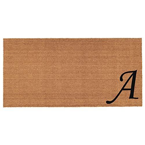 Shop Now For The Calloway Mills 152992436d Burgundy Border 24 X 36 Monogram Doormat Letter D Accuweather Shop