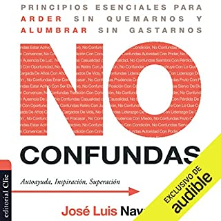 No confundas [Don't Get Confused] audiobook cover art