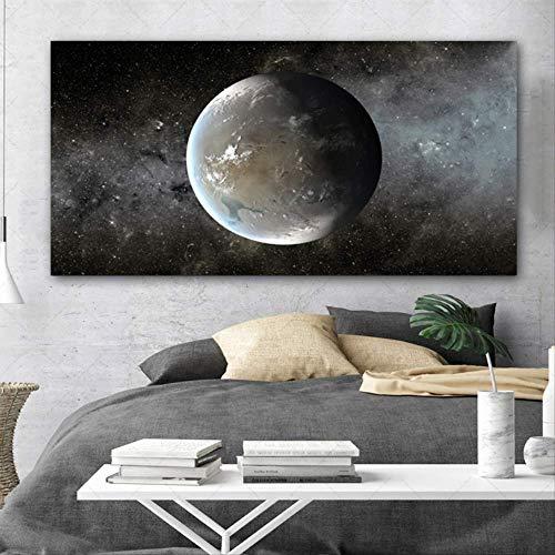 HD Poster Print echte planeet foto woonkamer groot formaat muur foto decoratie fotolijst 70x140cm