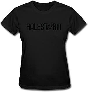 Duanfu Halestorm Logo Women's Cotton Short Sleeve T-Shirt