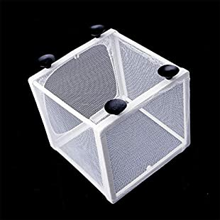 XuBa Aquarium Fish Breeding Isolation Mesh Box Net Incubator Breeder For Fish Tank Aquarium Accessory [Large] Without Partition