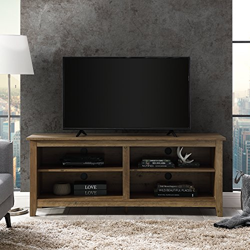 "Walker Edison Wood 58"" Console | Flat-panel TV"