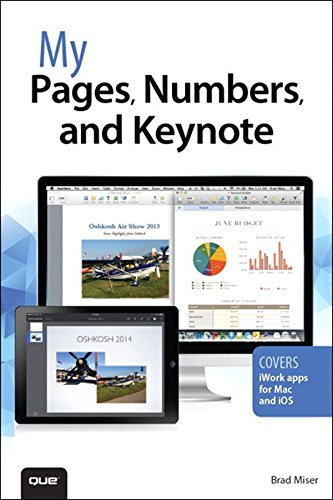 My Pages, Numbers, and Keynote (for Mac and iOS) (My...) (English Edition)