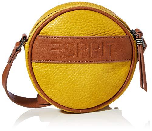 ESPRIT Accessoires Damen 080EA1O301 Umhängetasche, 720/BRASS Yellow, 1SIZE