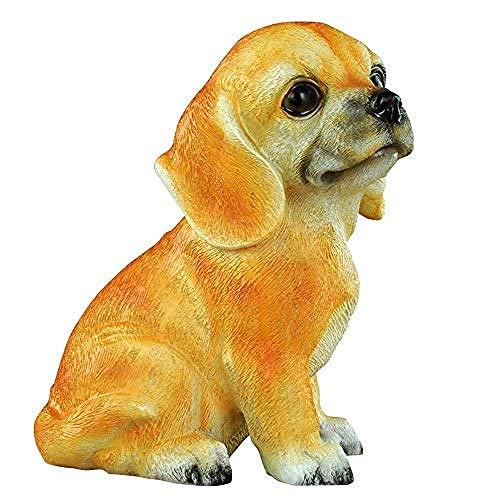 LYMUP Creativity, Decorations Art Craft Cute dog ornaments children cartoon piggy bank desktop piggy bank girl boy bank
