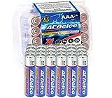 ACDelco 20-Count AAA Batteries, Maximum Power Super Alkaline Battery
