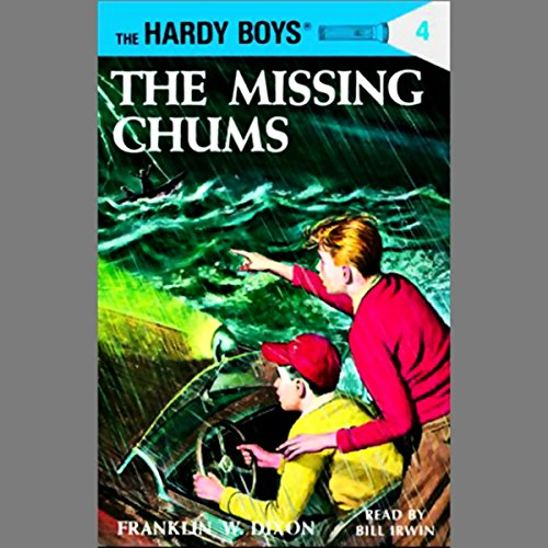 The Missing Chums audiobook cover art