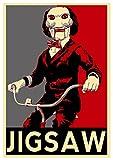 Poster Saw - Propaganda Horror - Jigsaw - A3 (42x30 cm)