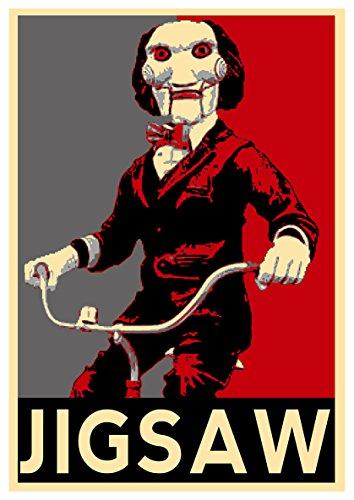 Instabuy Posters Saw Propaganda Horror Jigsaw - A3 (42x30 cm)