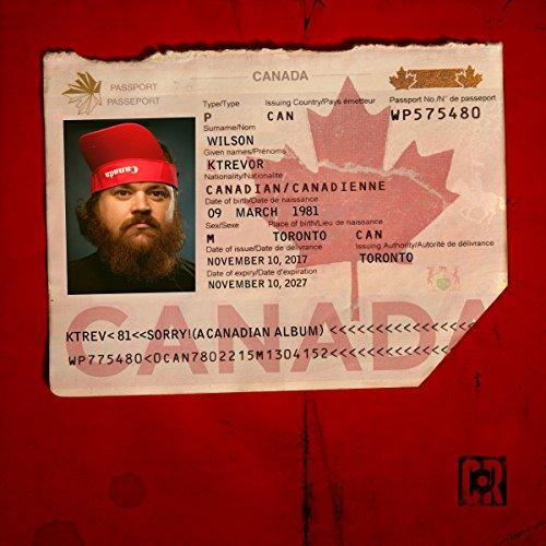 Sorry! (A Canadian Album) cover art