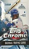 2019 Topps Chrome MLB Baseball HOBBY box (24 pks/bx, TWO Autograph cards)