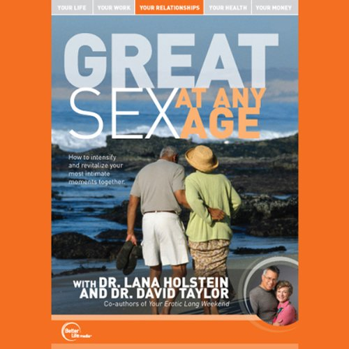 Great Sex at Any Age (Live) audiobook cover art