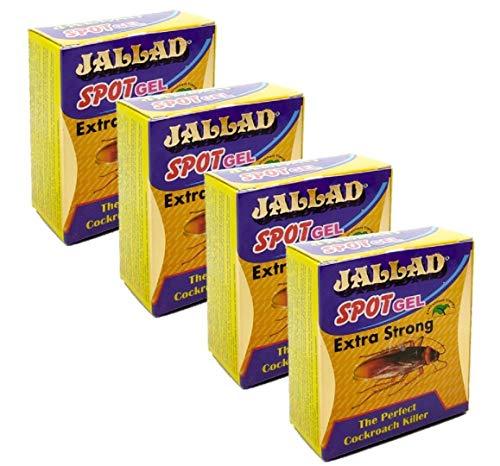 Jallad Sunshine Anti Cockroach Gel Spot Gel Killer Super Power Formula Pest Control (10g x (4))