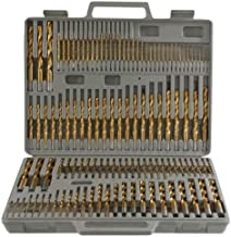 DSA Trade Shop Titanium Drill Bit Set w/Index Case Number Letter Fractional