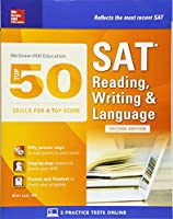 McGraw-Hill Top 50 Skills for a Top Score: SAT Reading, Writing & Language