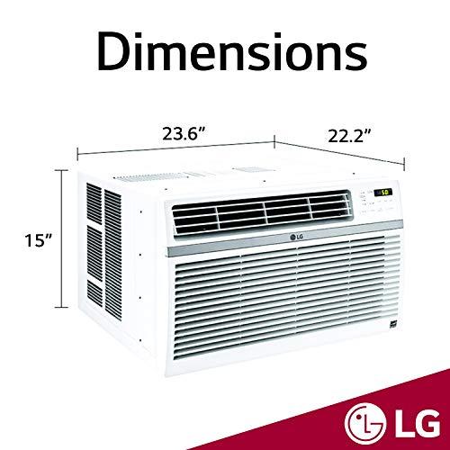 LG LW1216ER Window-Mounted Remote Control, 12,000 BTU 115V Air...