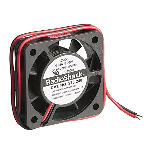 RadioShack 12 V DC Mikro-Ventilator.