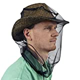Mosquito Head Net for Insect, Fly & Bug Protection - Quality Mesh Netting for Travel, Camping,...