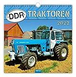 Trötsch Technikkalender Kalender DDR-Traktoren 2022: mit Bildern von Ralf-Christian Kunkel: 30 x 30 cm, mit Bildern von Ralf-Christian Kunkel